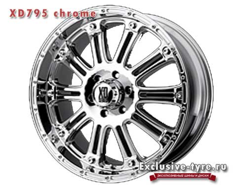XD Series XD795 20 9 5/150 ET+30 Chrome